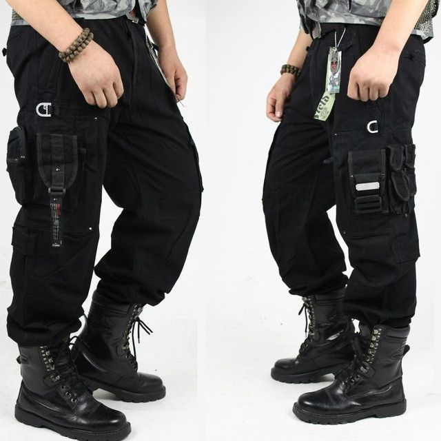 823a623da CARGO PANTS Overalls Men's Millitary Clothing TACTICAL PANTS MILITARY Knee  Pad Male US Combat Camouflage Army Style Camo Trouser