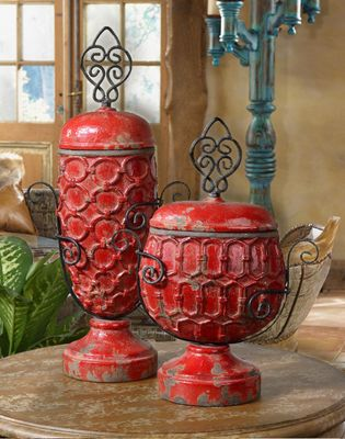 tuscan home decor accessories alfresco mediterranean urns set of 2 tuscan home 11773