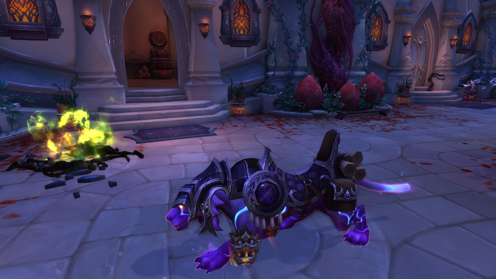 When you know they don't fit but you wear them anyways #worldofwarcraft #blizzard #Hearthstone #wow #Warcraft #BlizzardCS #gaming