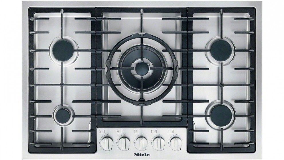 Miele 77cm Gas Cooktop - Cooktops - Appliances - Kitchen Appliances ...
