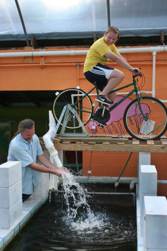 Human Powered Water Pump I Have The Bike Need A Stand