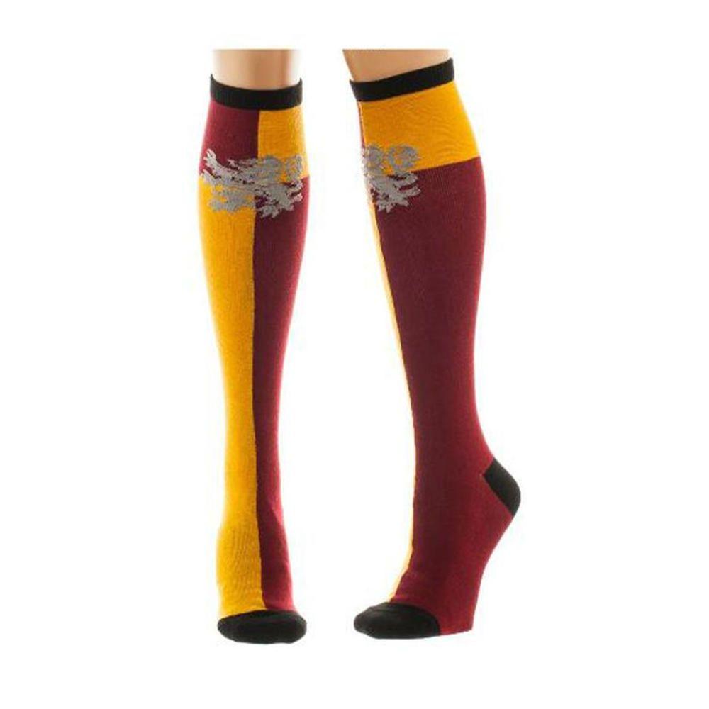 New Harry Potter - Gryffindor knie hoge sokken rood/geel - One size #XT91
