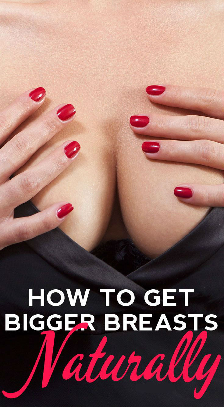 BIGGER BREASTS WITHOUT A SURGERY! - Daily Rumors