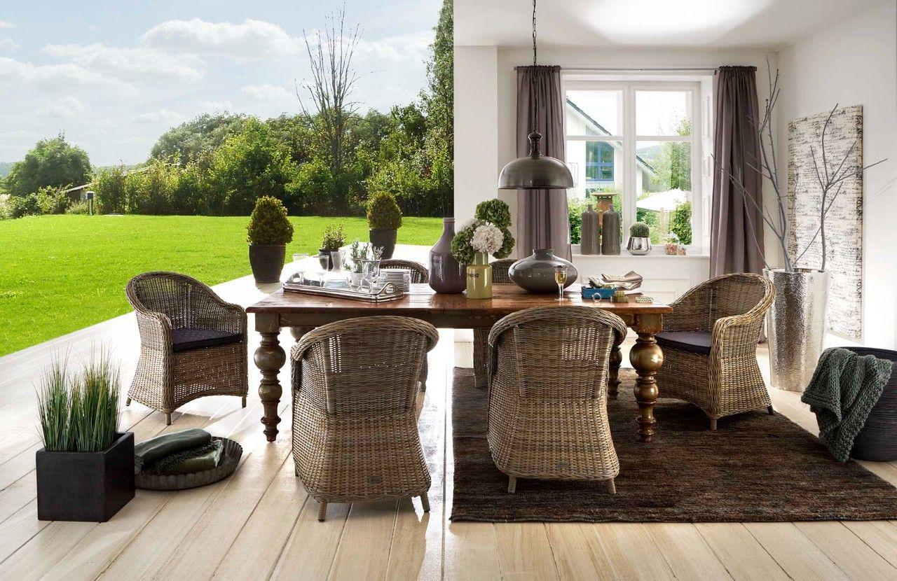 Marvelous Tisch Gili Haus u Garten Onlineshop Loungem bel Polyrattanm bel Geflechtm bel Teakholz u