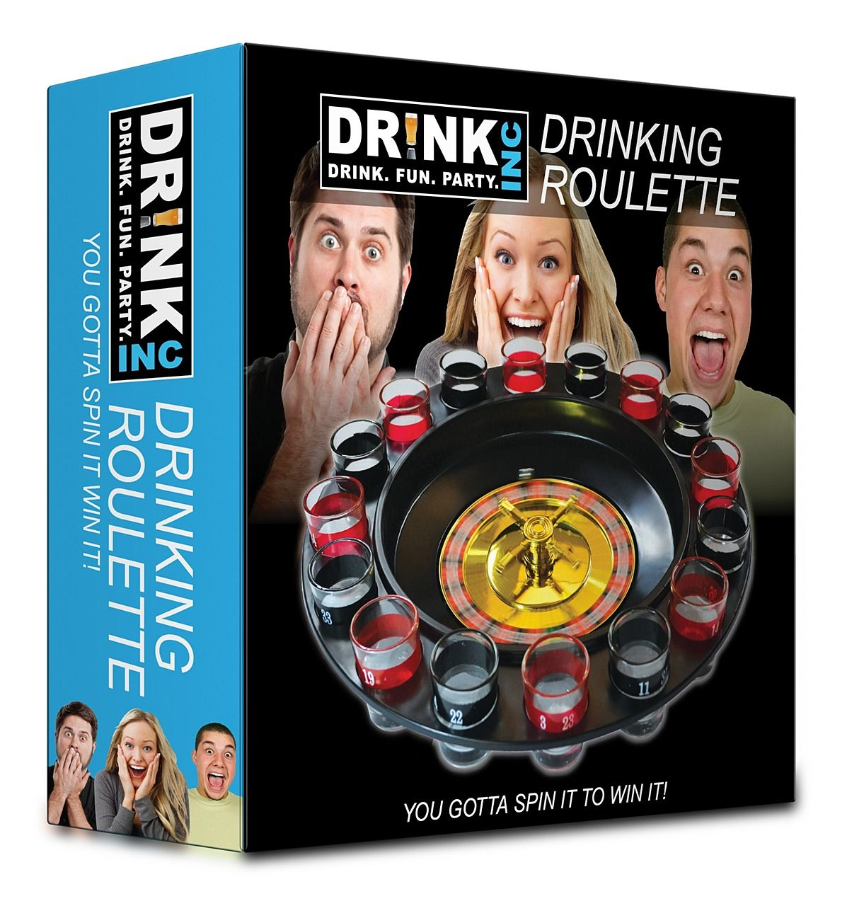 Drinking Roulette Game at PartyWorld Costume Shop