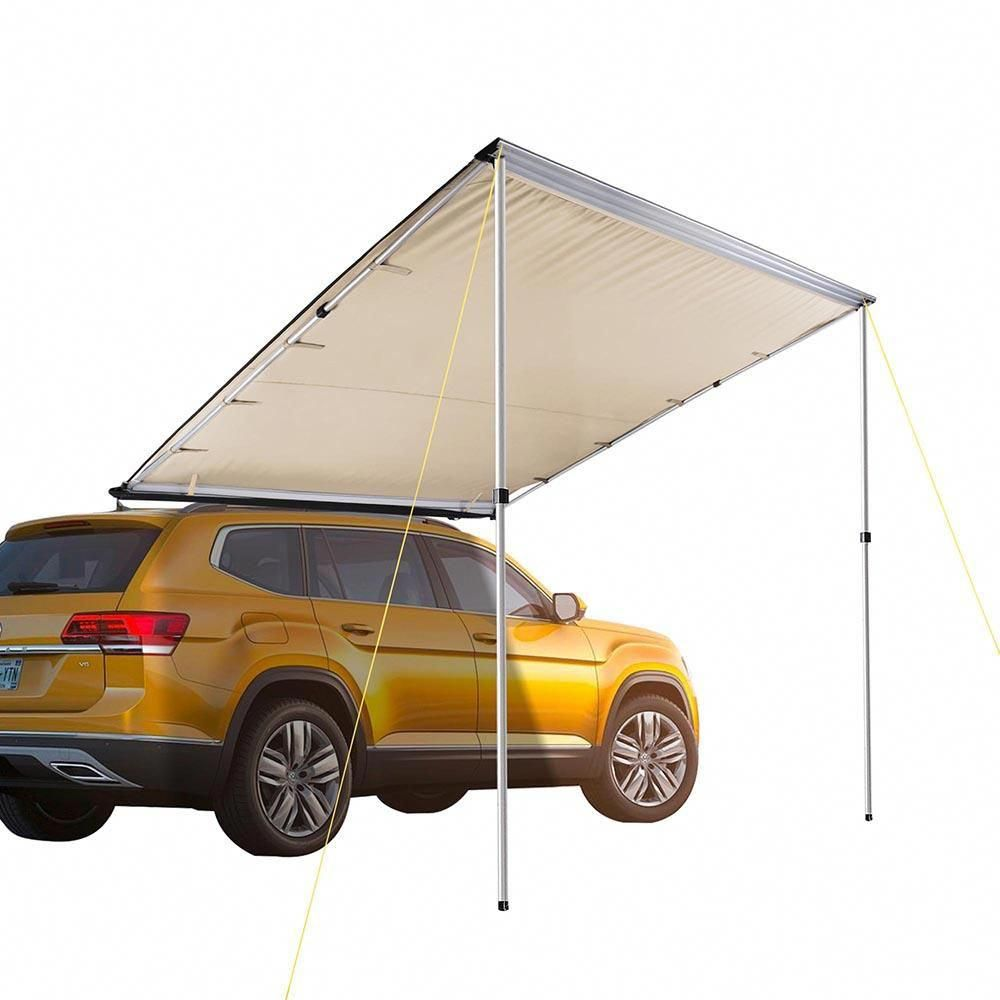 6 3 5 X 8 1 5 Vehicle Rooftop Side Awning Tent Shade Color Opt Car Tent Tent Awning Roof Top Tent