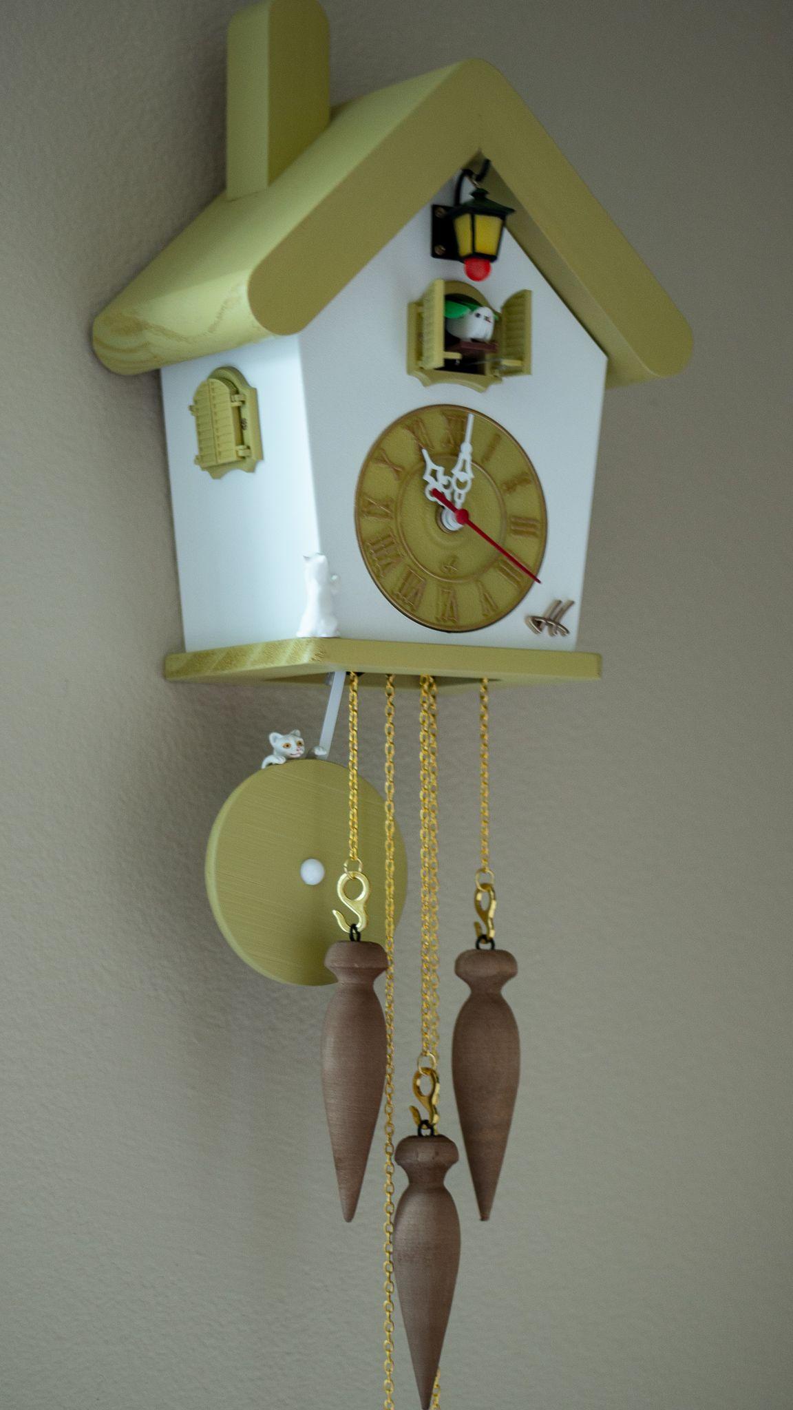 Cuckoo Clockwall Clockhand Madeclock Kitchen Wall Etsy In 2020 Cuckoo Clock Modern Cuckoo Clocks Diy Clock Wall