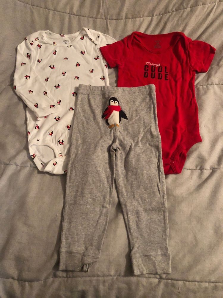 Carters Baby Boy Outfit Size 24 Months Excellent Condition