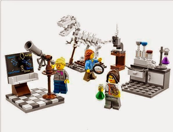 A LEGO Science Set for GIRLS!