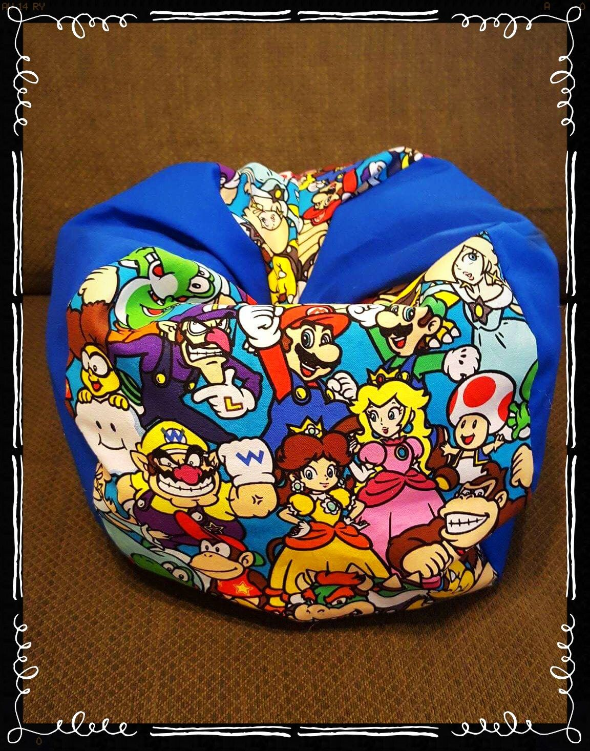 Handmade Super Mario Bros Nintendo American Girl Bean Bag Chair For American Girl Dolls Or Other 18  Dolls! by LilAngelKissesCrafts on Etsy  sc 1 st  Pinterest & Handmade Super Mario Bros Nintendo American Girl Bean Bag Chair For ...