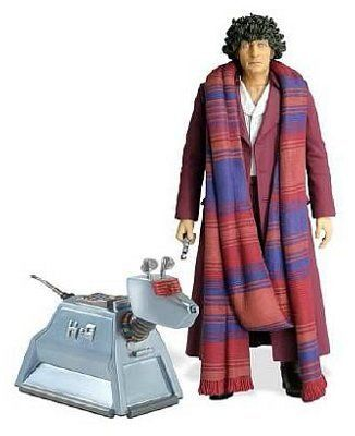 'Doctor Who - The Fourth Doctor with K-9 Action Figure Set of 2 $35.98
