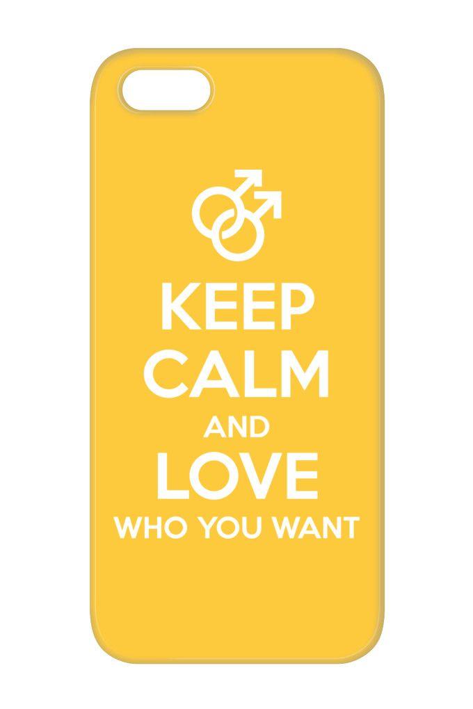 Limited Edition Keep Calm & Love Who You Want | TeeChip