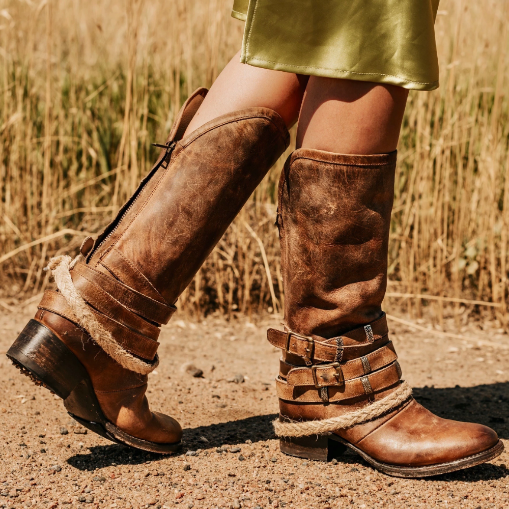 Drove Boots Leather Boots Women Country Boots