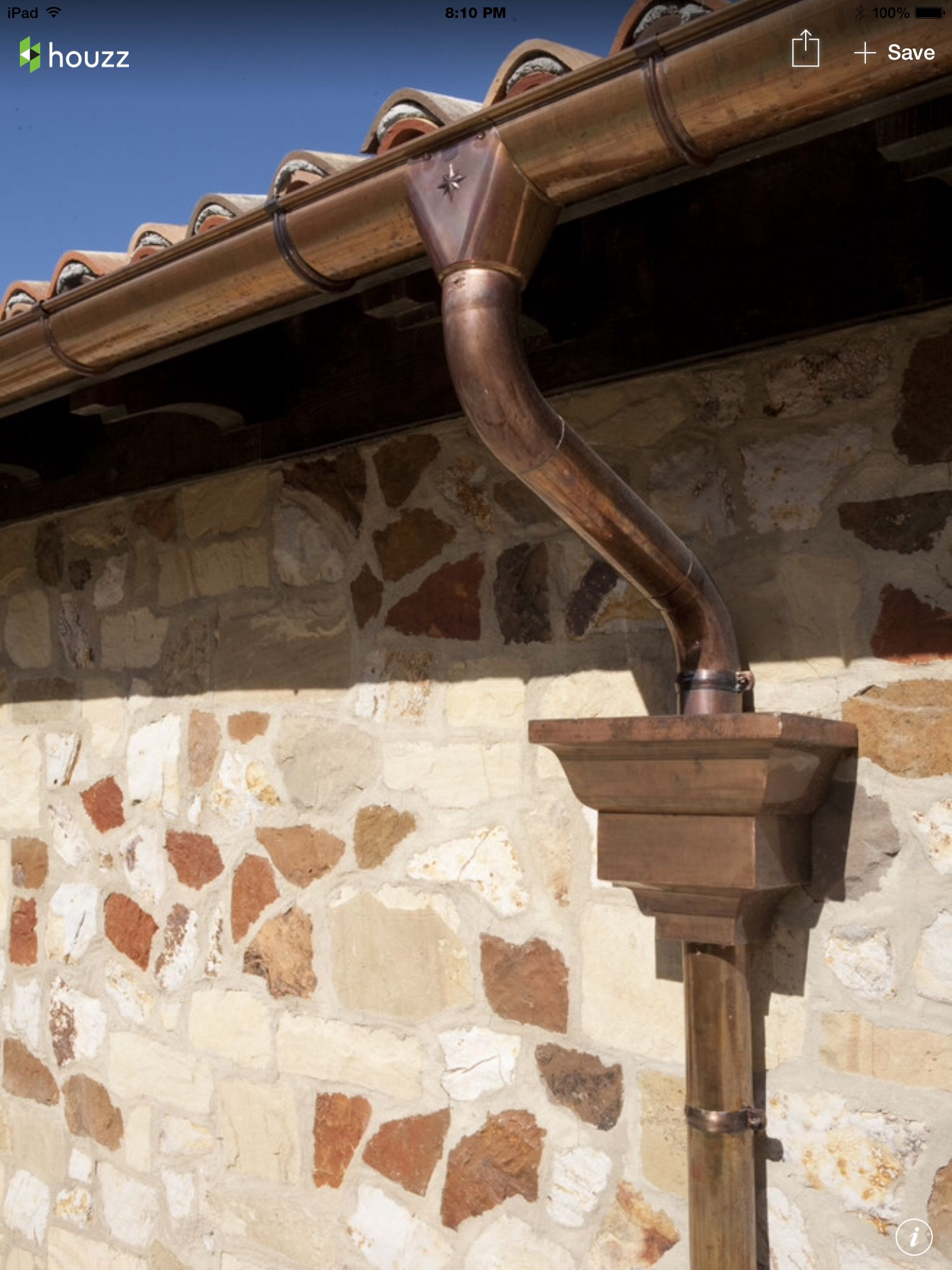 Copper Gutters Casa De Pueblo Casitas Fachadas