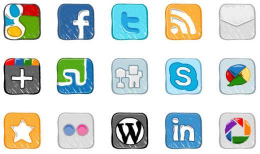 Outclass Collection of Totally Free Social Media Icon Sets