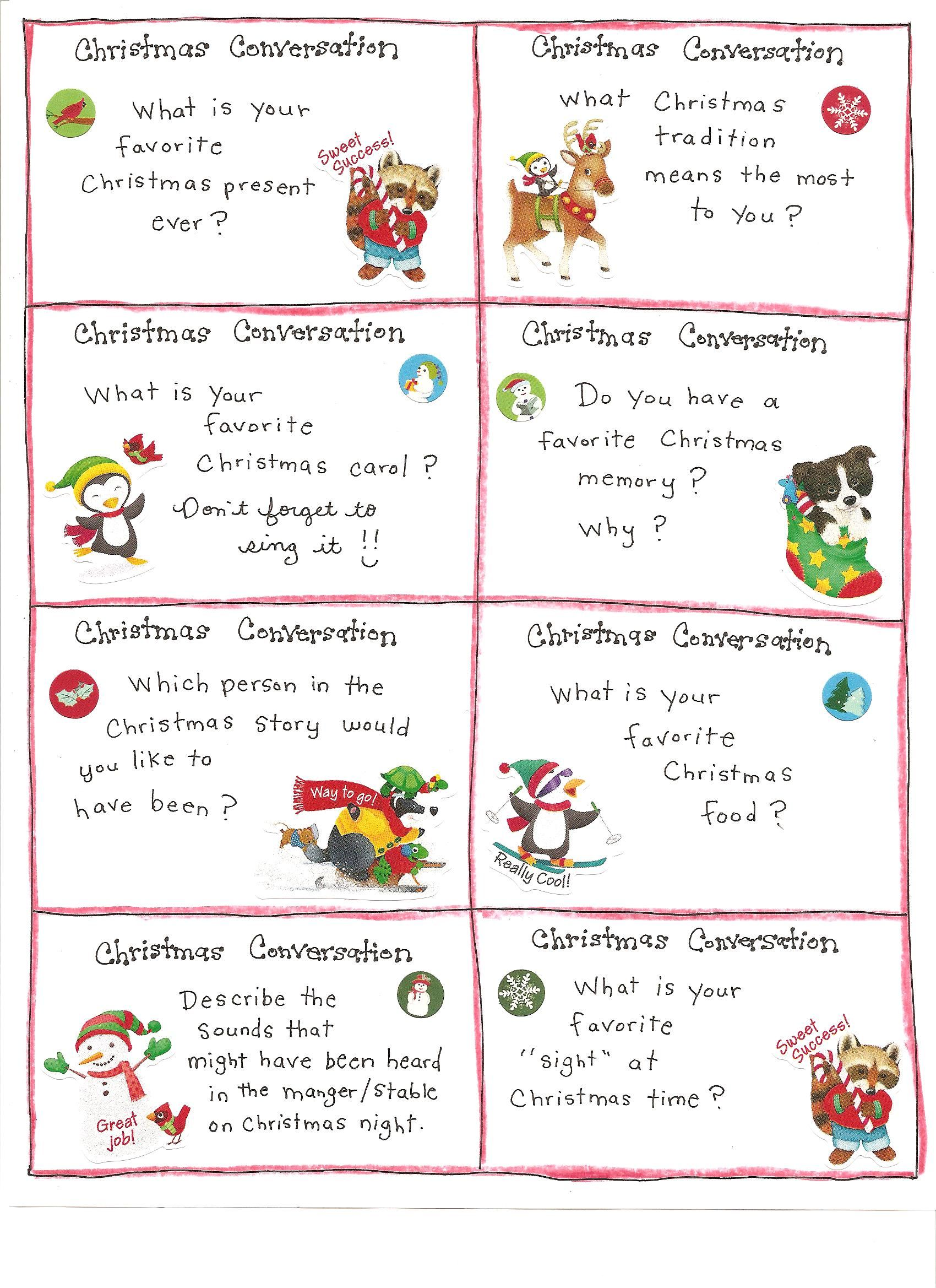 Christmas Fun Cards