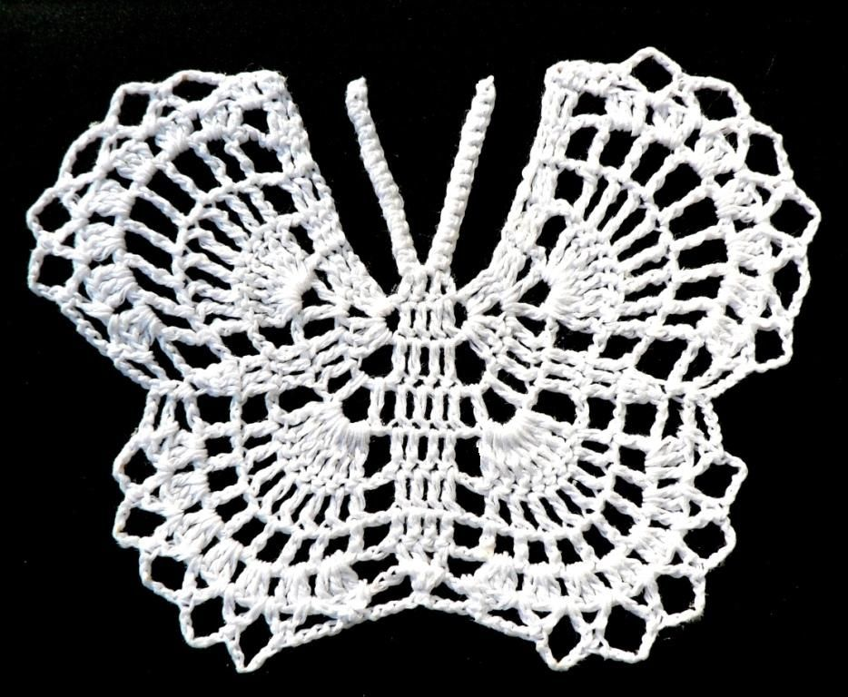 Crochet Butterfly | CROCHET | Pinterest | Mariposas, Ganchillo y Tejido