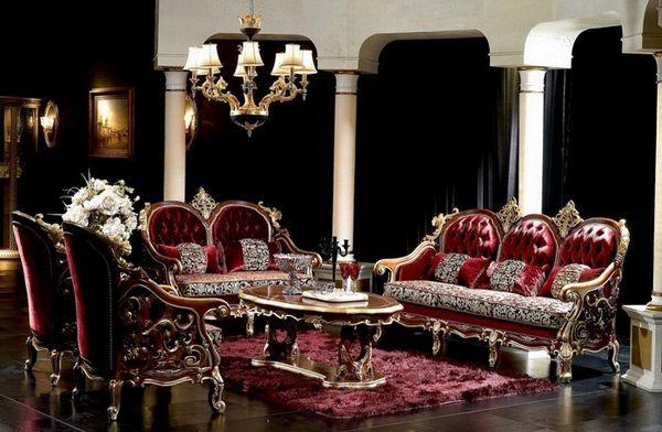 15 Salons design au style baroque - Moderne House | 1001 photos ...