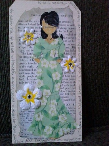 Julie Nutting in Hawaii. I made this for my sister and one for my mom for Mothers day. 2015