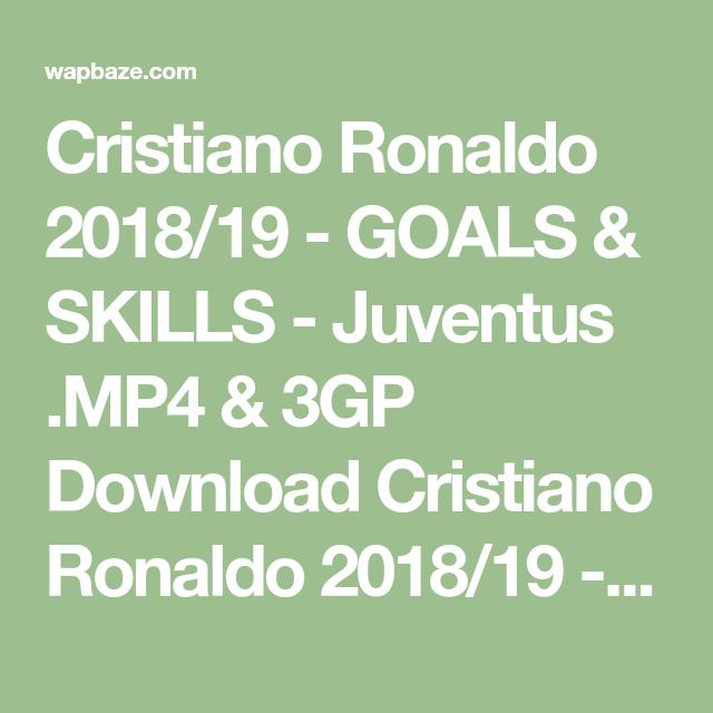Download Cristiano Ronaldo 2018/19 - GOALS & SKILLS - Juventus
