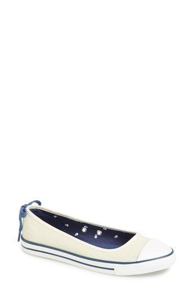 22e4e1c8909c Converse Chuck Taylor® All Star®  Dainty  Ballerina Flat Sneaker (Women)