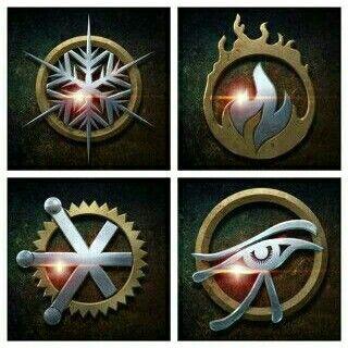Legends of Tomorrow symbols