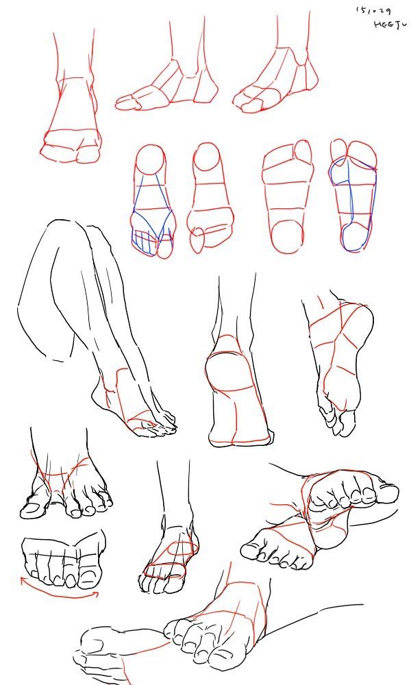 Pin By Maria Belen Lima On メイキング Drawing Tutorial Drawing Reference Feet Drawing
