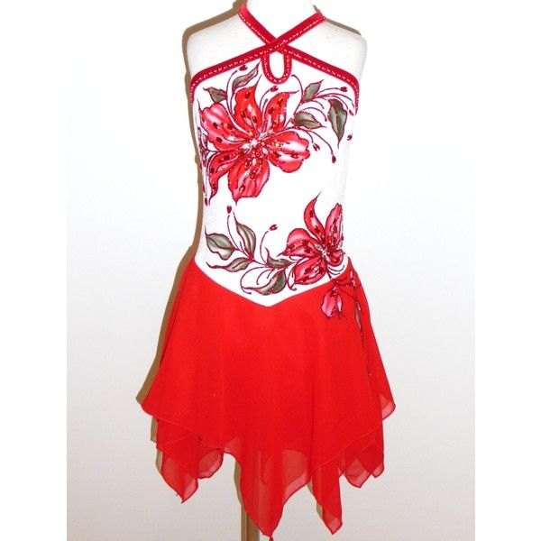 Elite Skate Wear LLC ❤ liked on Polyvore featuring dresses