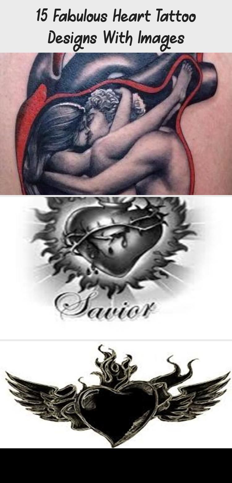 15 Fabulous Heart Tattoo Designs With Images Heart
