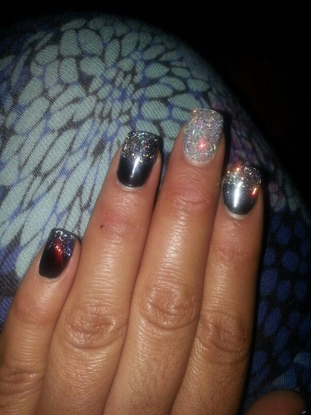 Nail design with sns