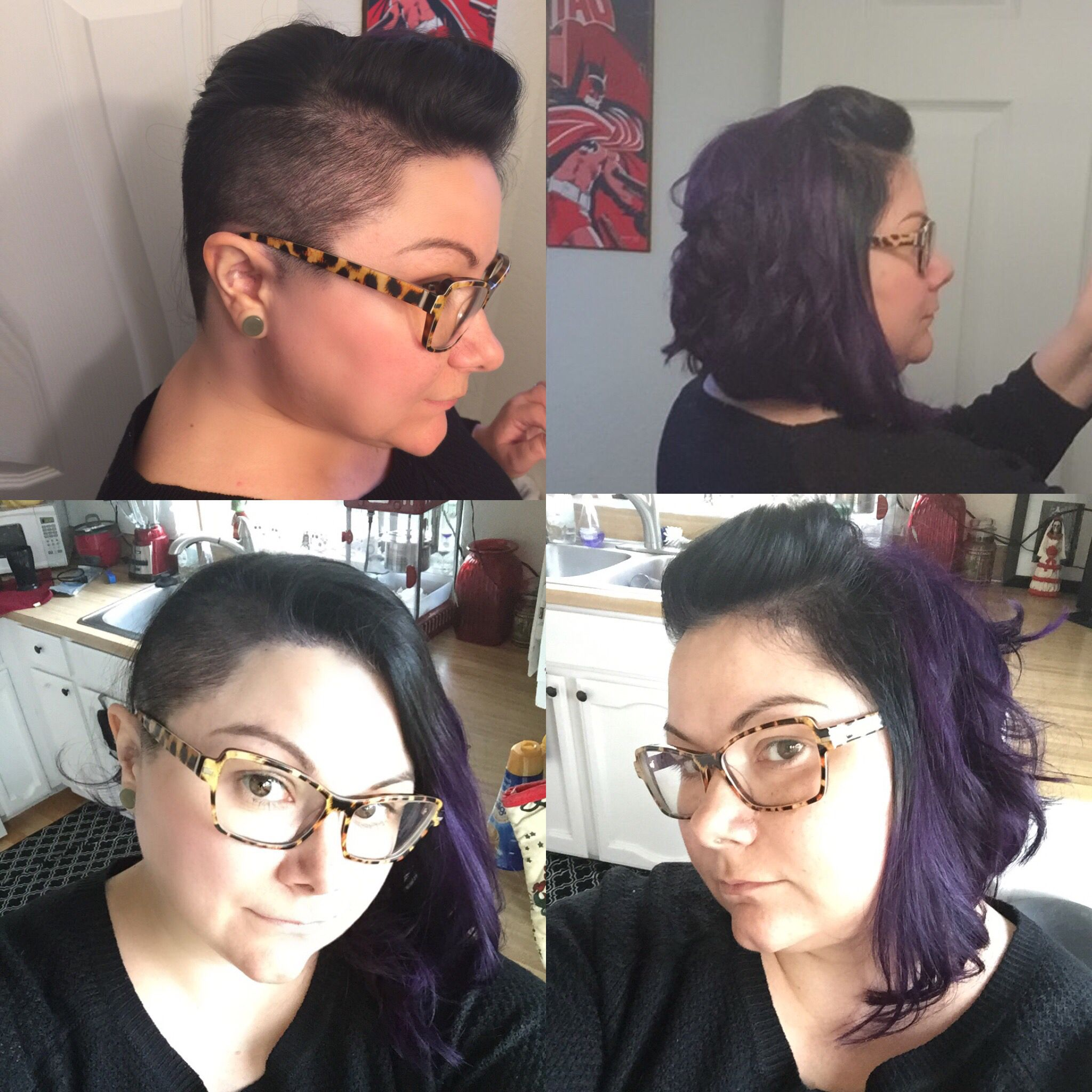 undercut side shave round face plus size | hair in 2019