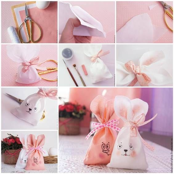Diy sewing cute easter bunny bag easter bunny easter and bunny diy sewing cute easter bunny bag negle Gallery