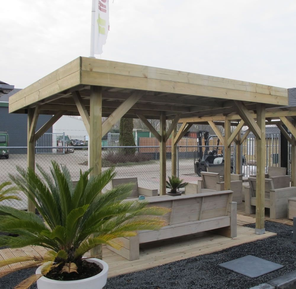 Do It Yourself Home Design: Gazebo Plans Flat Roof