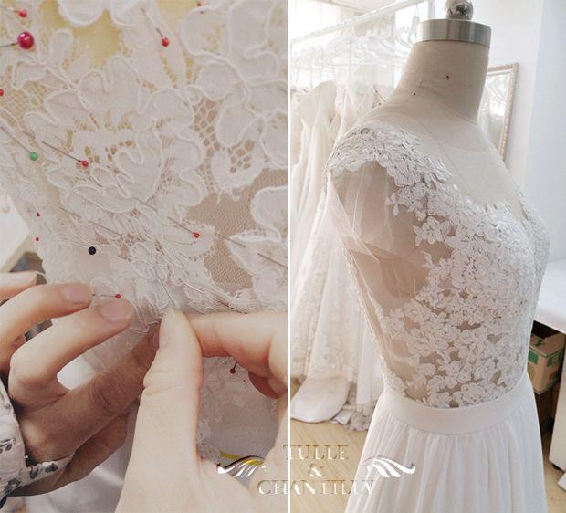 Design Your Wedding Dress | Design Your Own Wedding Dress Gorgeous Customized Long Chiffon