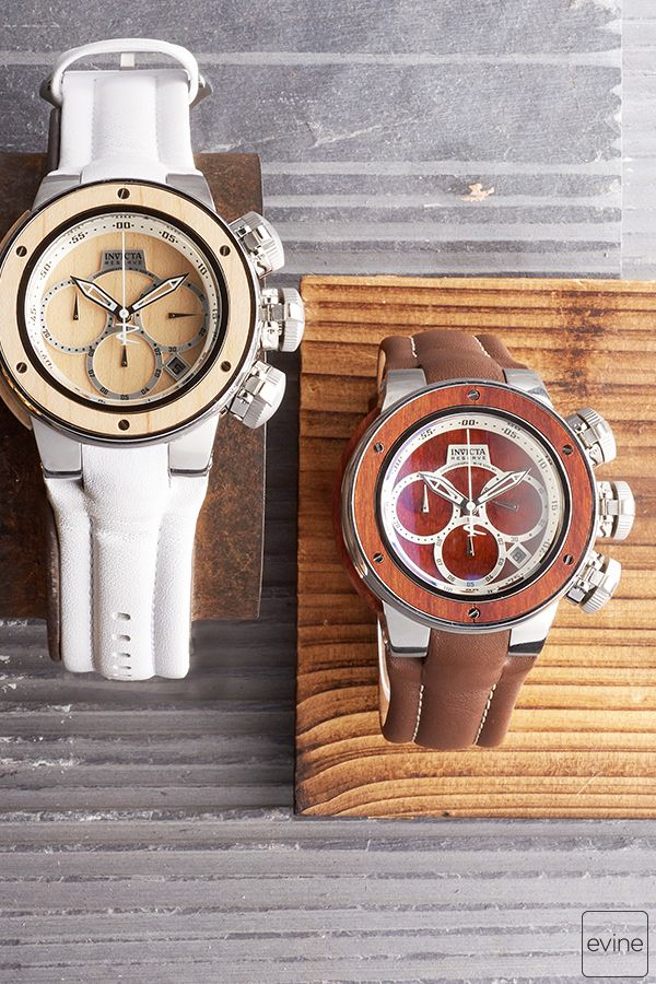 f4db6a7a4 Invicta goes all old school cool on you with the Reserve Subaqua Sea  Dragon. What do we mean? See that maple wood inlay on the bezel and the  left side of ...