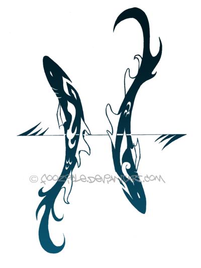 Aquarius Pisces Art