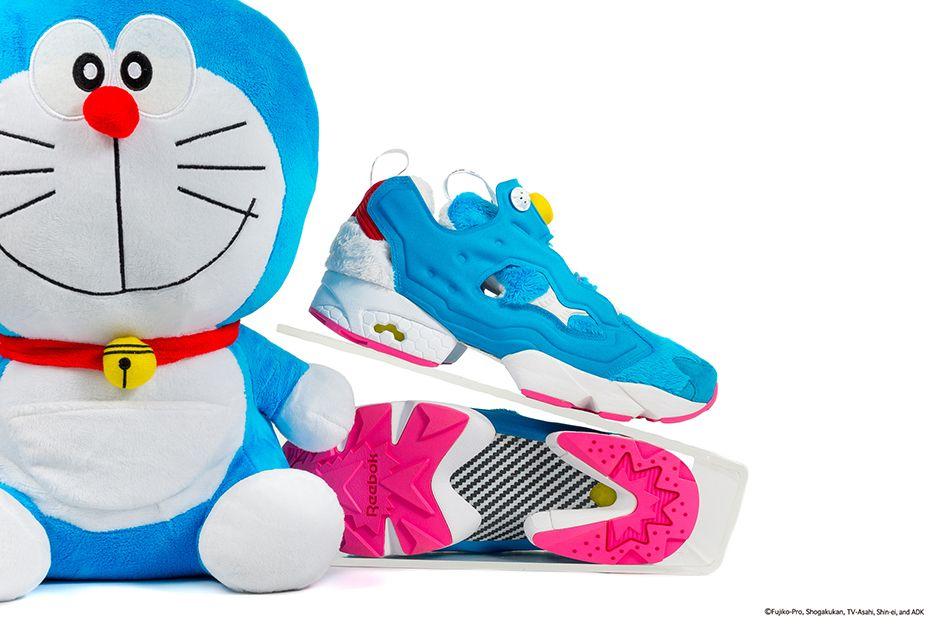 Amargura Hermano Alboroto  Doraemon Reebok Instapump Fury By Packer Shoes | SneakerNews.com | Reebok  insta pump, Reebok, Doraemon