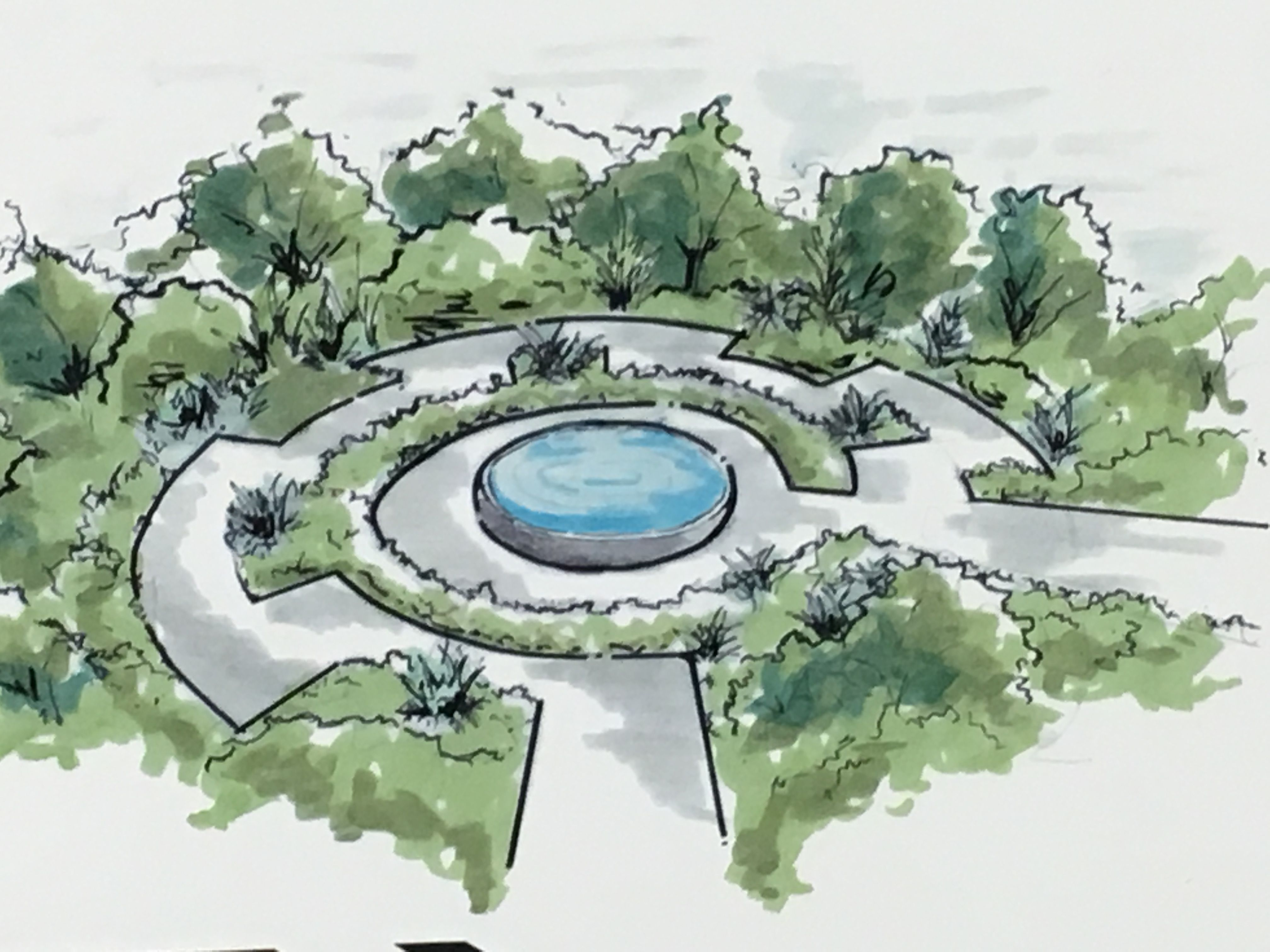 1000 Images About Garden Design 3D Drawings On Pinterest