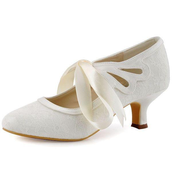 Schuhe elfenbein