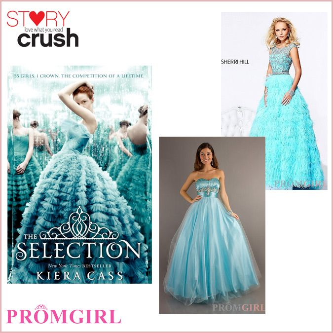 The Selection Series Book Cover ~ The selection prom dresses inspired by ya covers i want