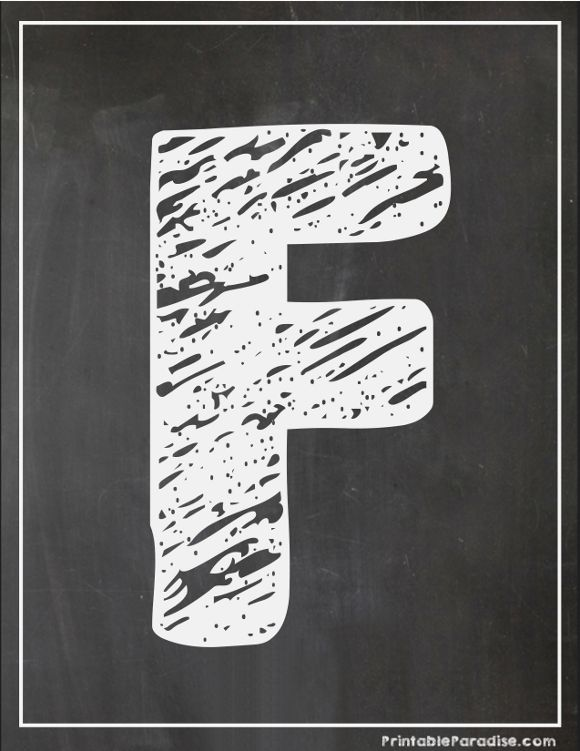 photograph about Printable Chalkboard Letters identify Printable Letter F Chalkboard Creating Printable Chalkboard