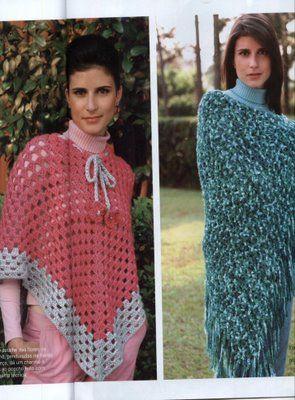 ** Crochetando com Cielle 2 **: poncho
