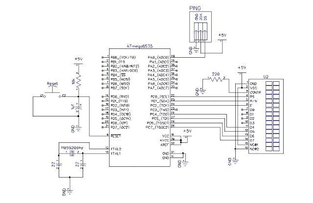 Akurasi Program Sensor Ping Dengan Bascom avr ~ Belajar