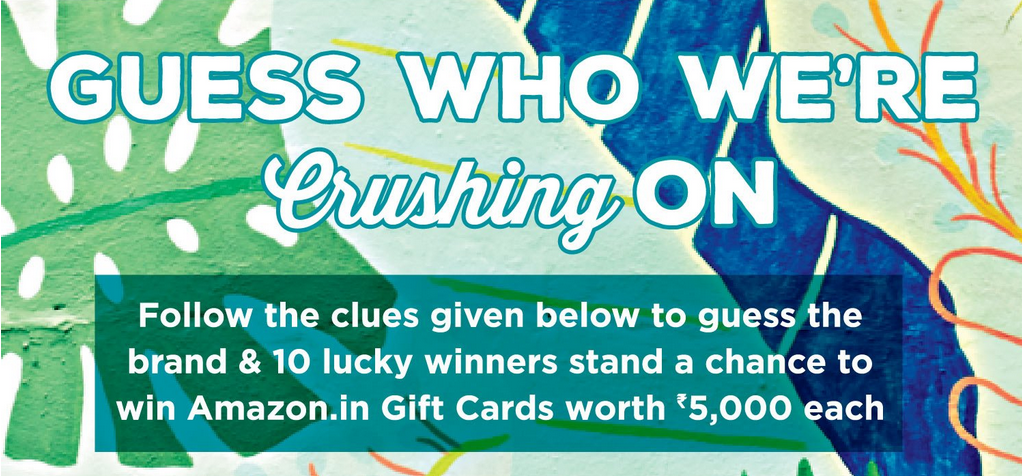 Amazon Guess The Brand And Win 5000 Gift Card Amazon Gifts Amazon Promo Codes Amazon Gift Cards