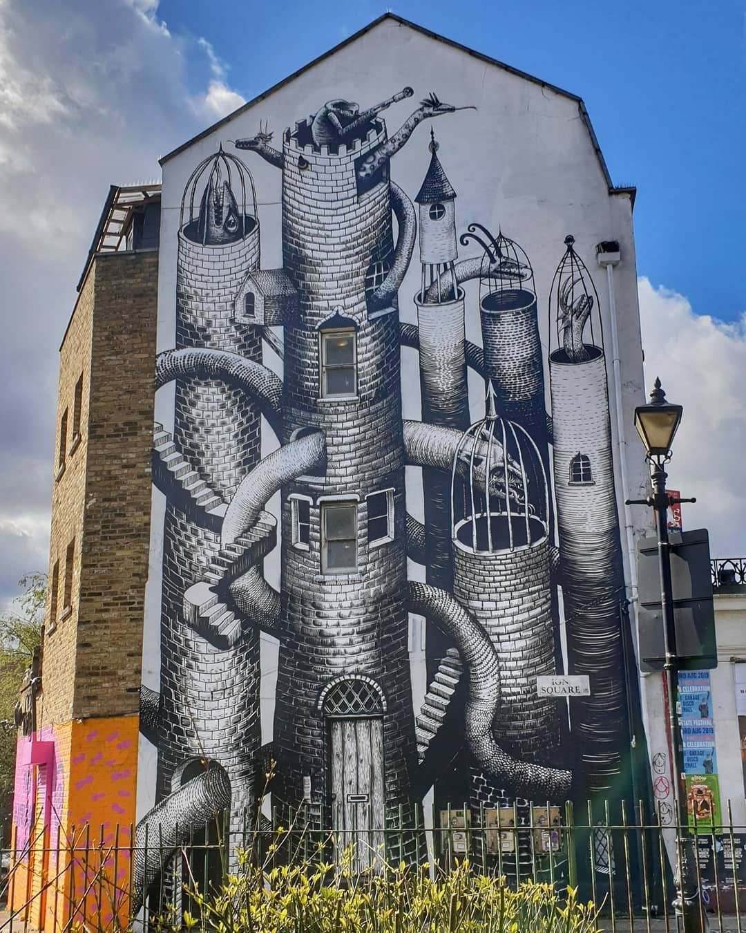 Street Art In Hackney London Art Street Art Columbia Road
