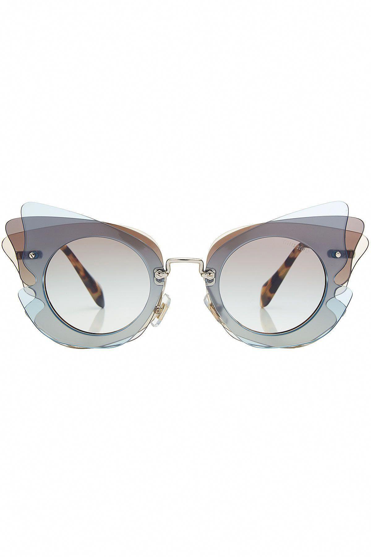 1eaf5efa56c Miu Miu - Butterfly Sunglasses