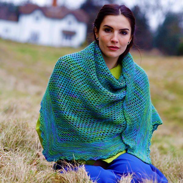 Madison Free Shawl Knitting Pattern | Halssocke, Schal stricken und ...