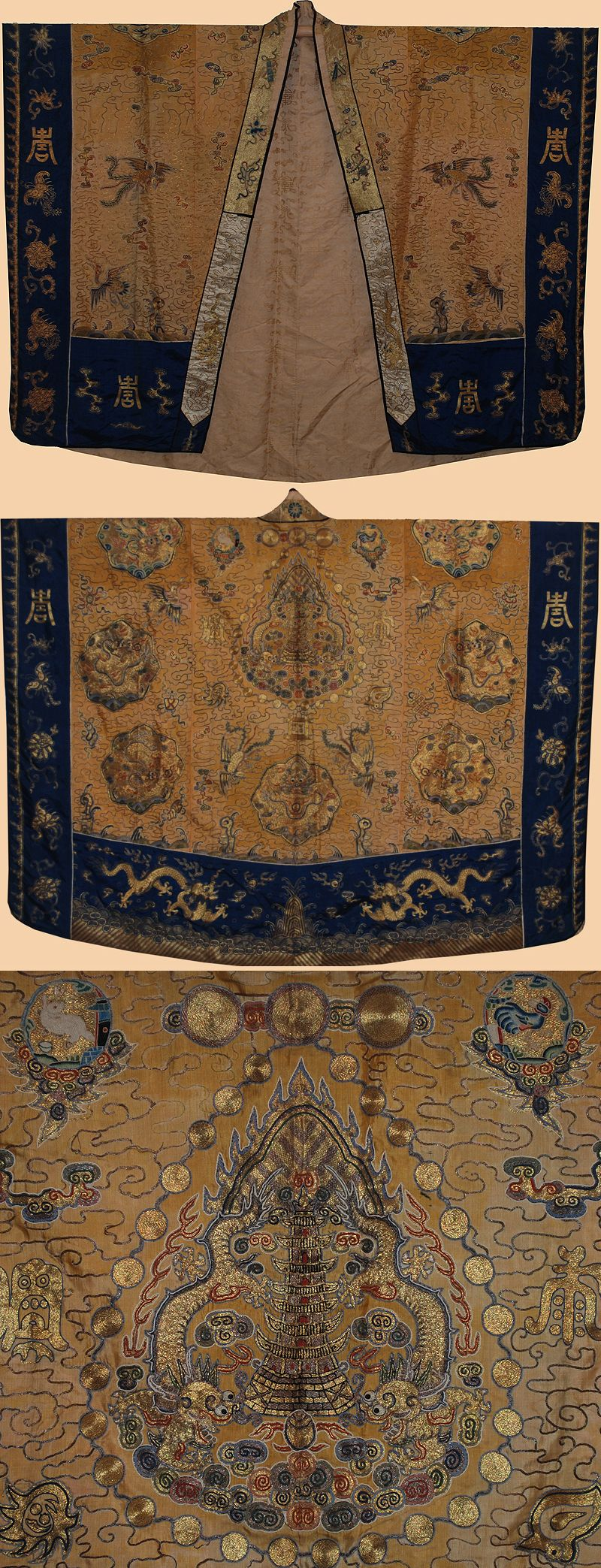Antique Chinese Pries Robe