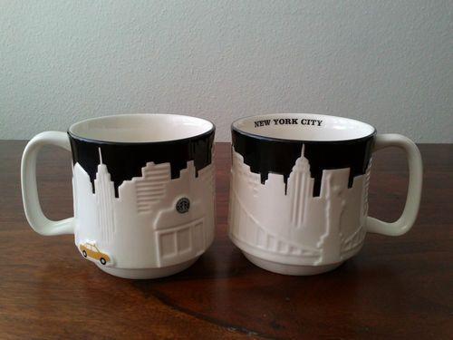 STARBUCKS CITY MUG NEW YORK CITY selten YELLOW CAB Neu ...