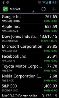 Real Time Stock Quotes Entrancing Download Stocks  Realtime Stock Quotes Applications  Finance For